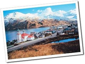 Unalaska et son église orthodoxe