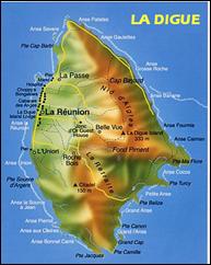 carte de La Digue