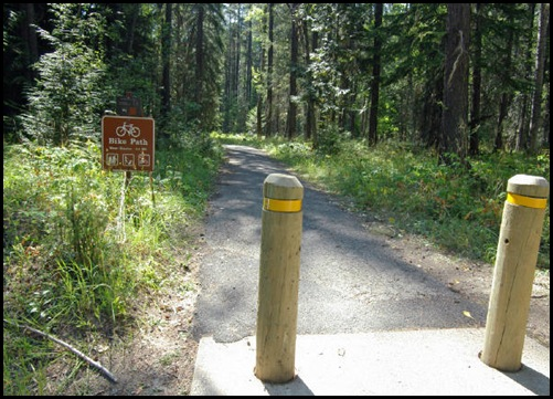 chemin de randonnée/VTT