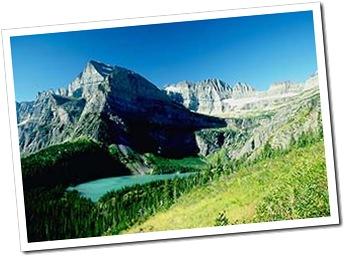 paysage à Glacier