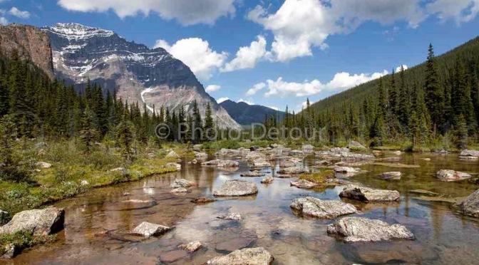 Idée de voyages : l'ouest canadien et ses parcs nationaux