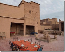 Terrasse chez Yacob