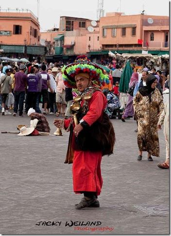 Porteur d'eau - Place Jemaa-el-Fna - Marrakech