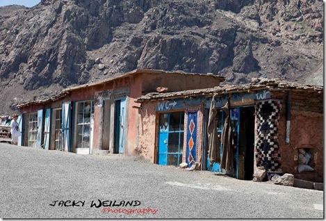 Echoppes - route de Marrakech à Ouarzazate - Haut Atlas