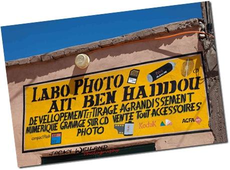 Labo photo - Âït Benhaddou