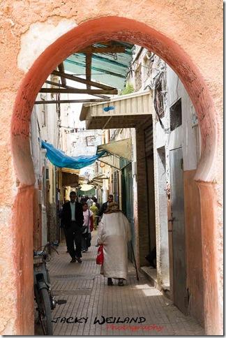 Ruelle dans la Médina - Rabat