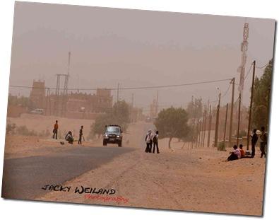 Tempête de sable - Mhamid